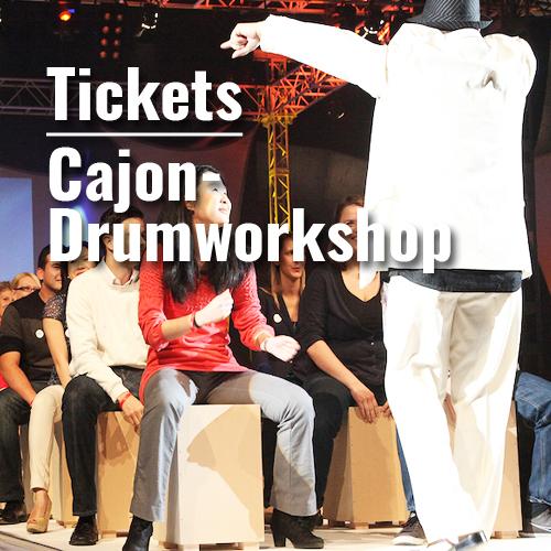 Ticket Cajon-Trommelworkshop