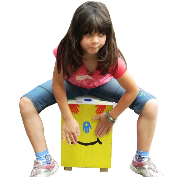 Cajon-Bausatz für Kinder