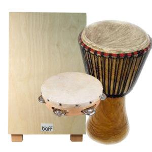 Instrumente von zu Hause